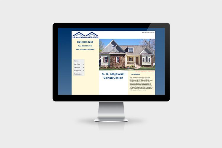S.R. Majewski Construction Website Design