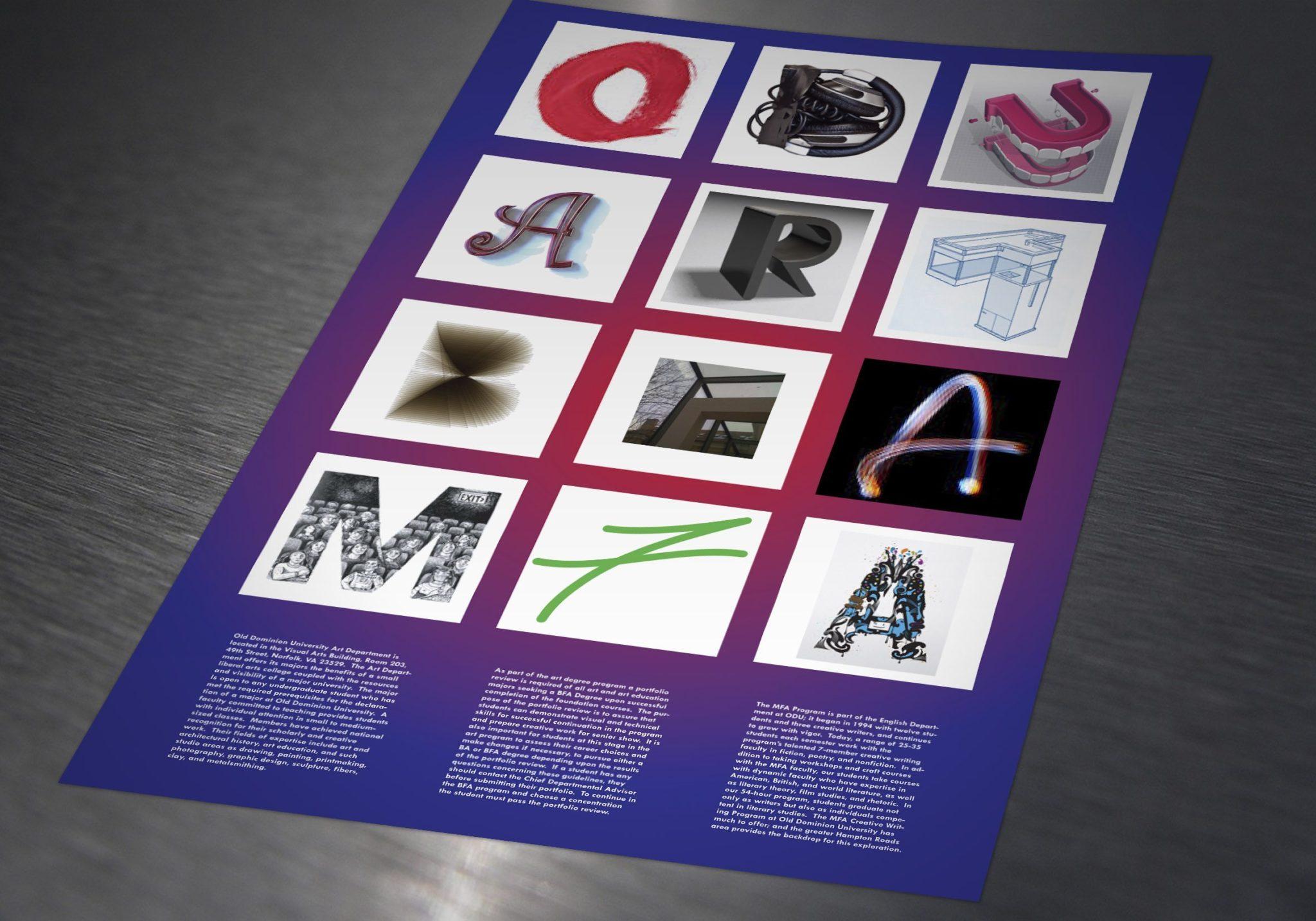 ODU Art Department Poster