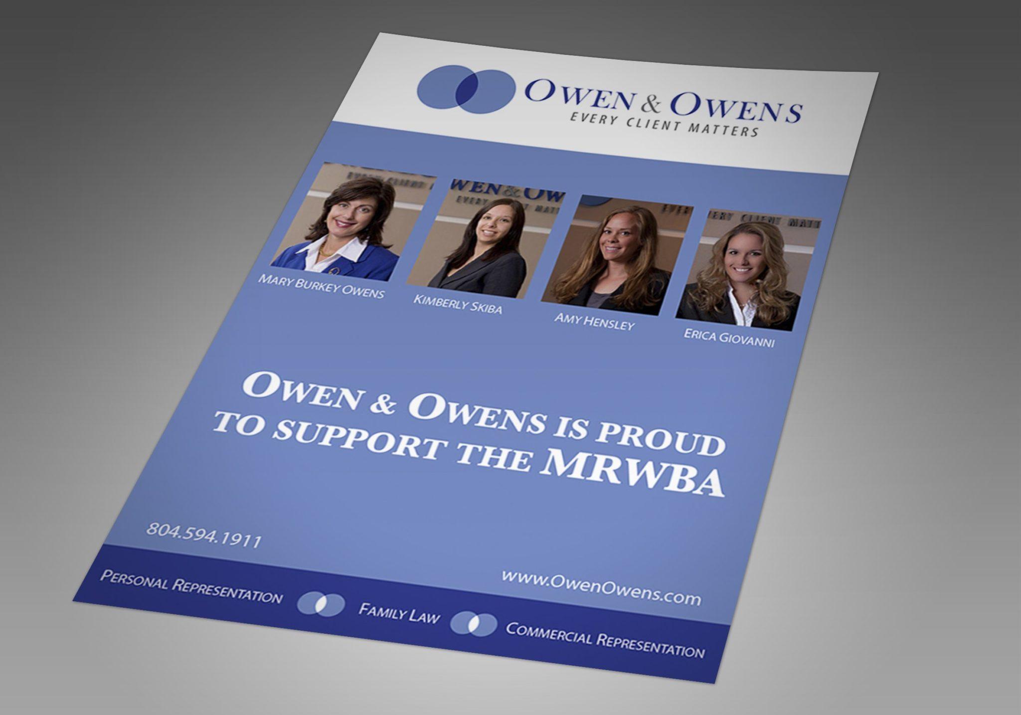 Owen & Owens Magazine Ad