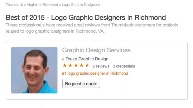 Best of 2015 Logo Graphic Designers, Richmond VA