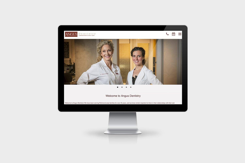 Angus Dentistry Website