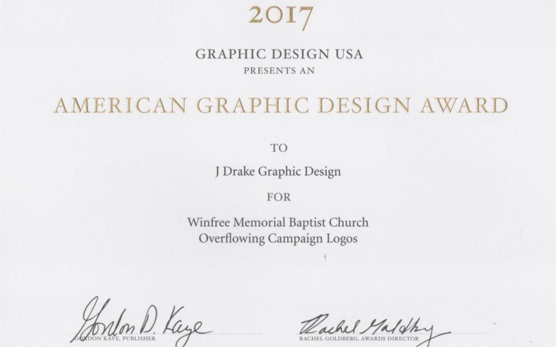 Graphic Design USA Award Winner 2017
