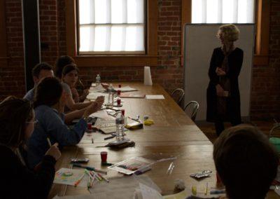 Design Sensory workshop with Ellen Lupton