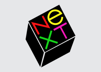 NeXT logo by Paul Rand