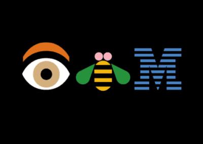 Eye Bee M logo by Paul Rand