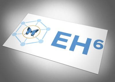 EH6 Butterfly Logo