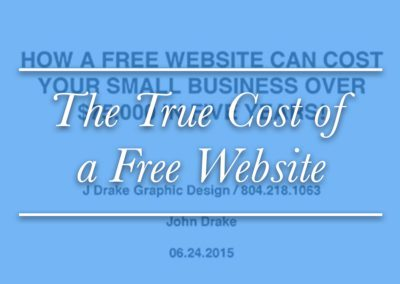 How a free website can cost your small business over $75,000 in five years!