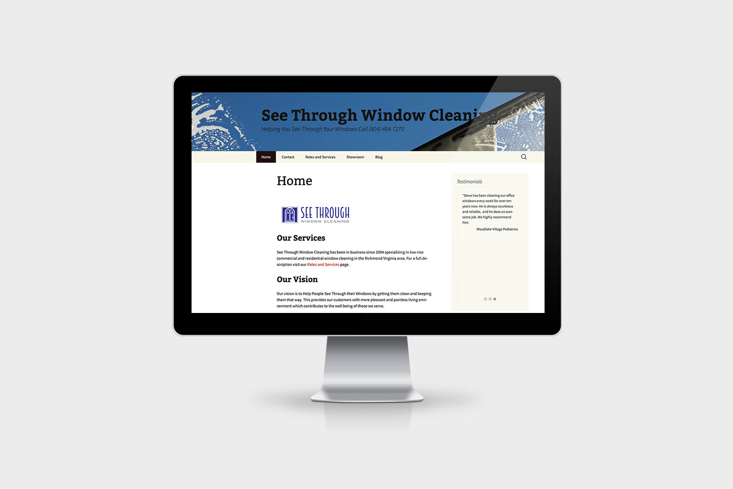 See Through Window Cleaning Website