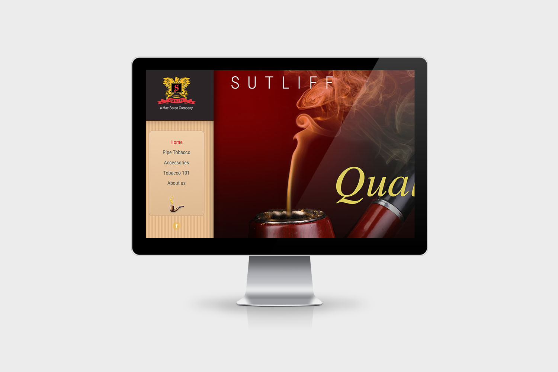 Sutliff Pipe Tobacco Website