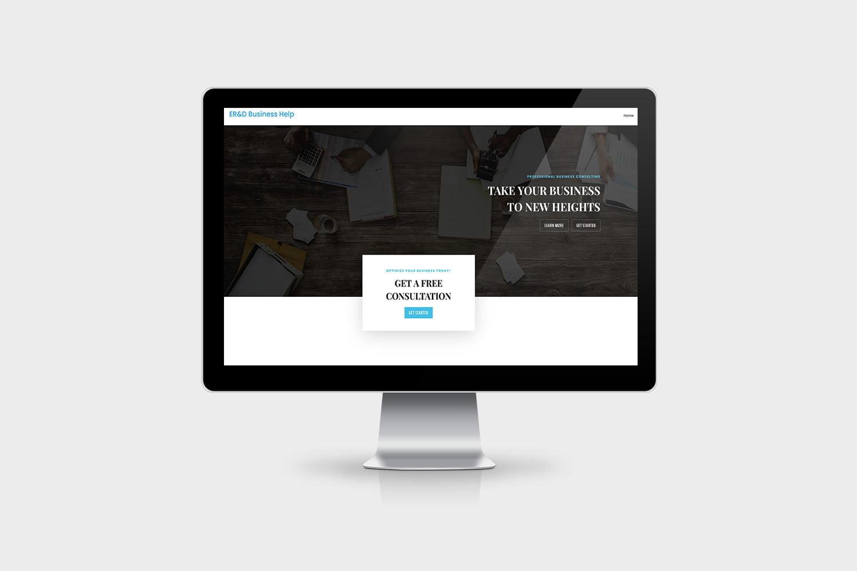 Entrepreneurial Research & Development website design