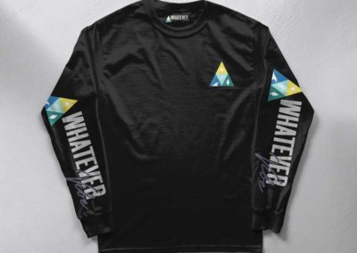 Whatever Vibe Triangle Logo
