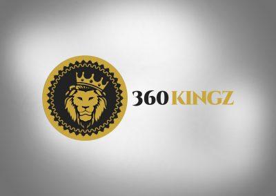 360 Kingz Logo Design